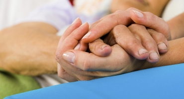 image of holding hands