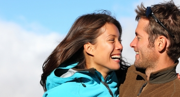 image of a couple smiling